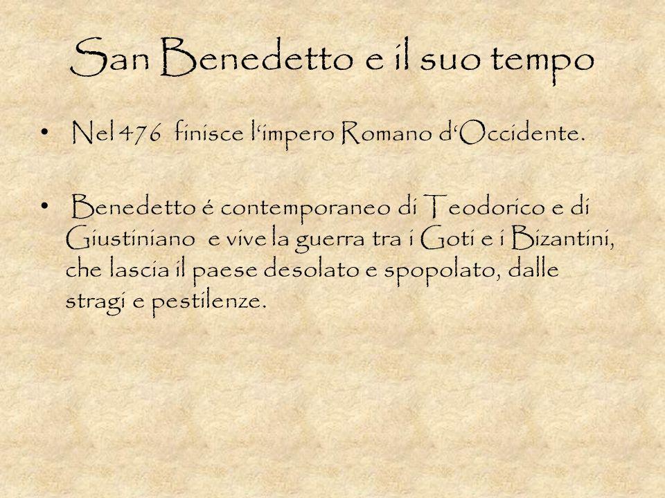 San Benedetto e il suo tempo