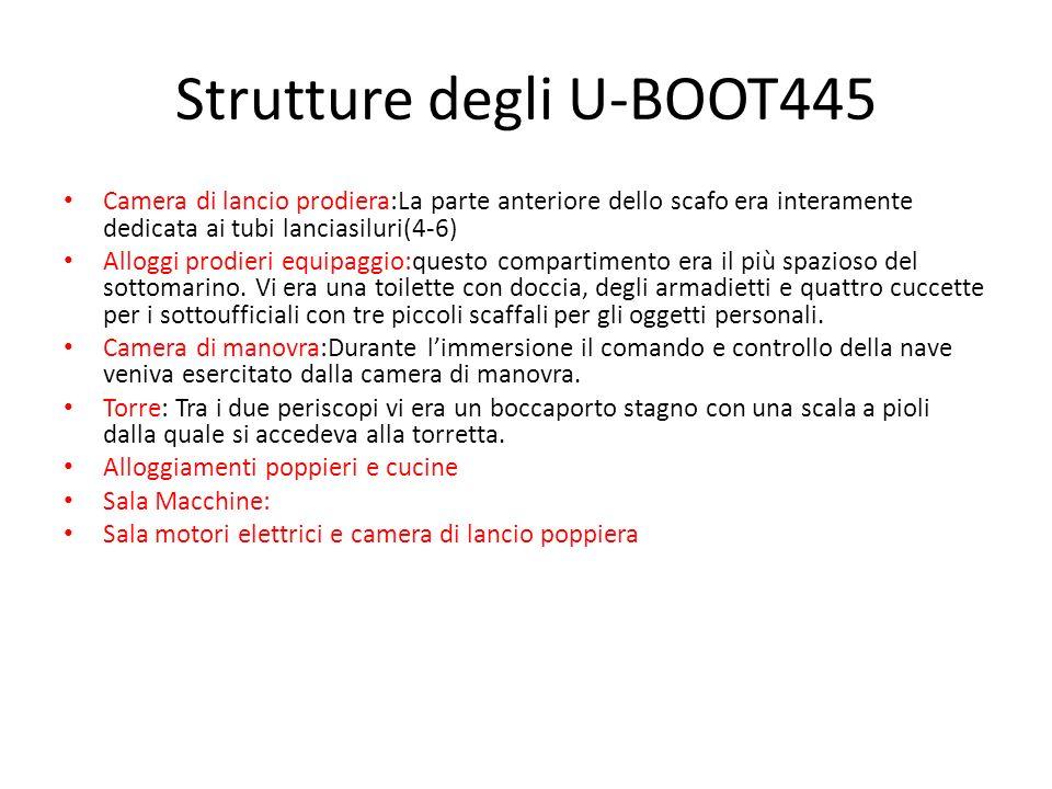 Strutture degli U-BOOT445