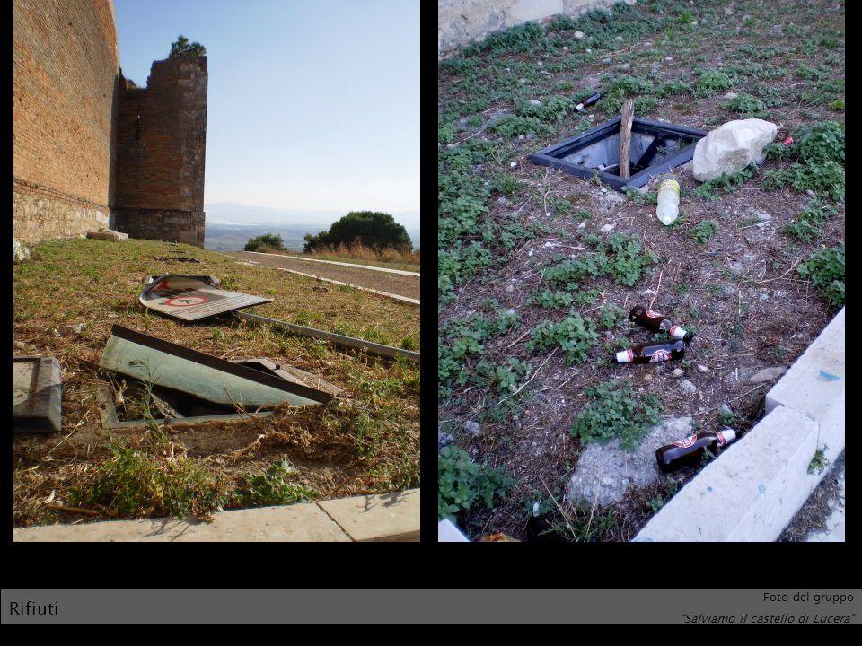 Foto del gruppo Salviamo il castello di Lucera Rifiuti