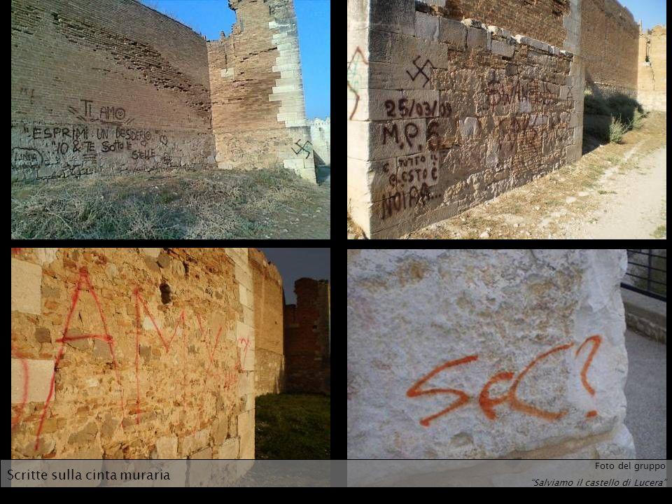 Scritte sulla cinta muraria