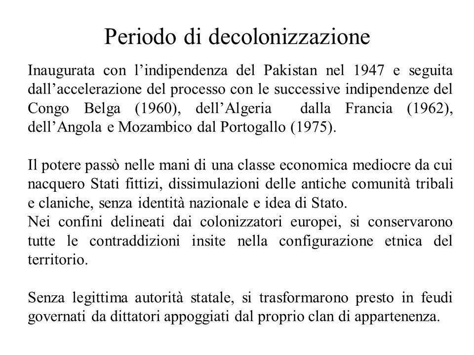 Periodo di decolonizzazione