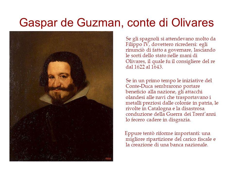Gaspar de Guzman, conte di Olivares