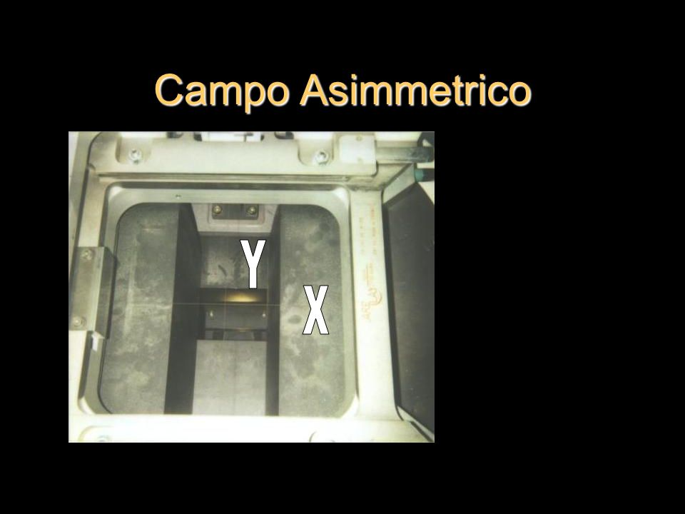 Campo Asimmetrico Y X