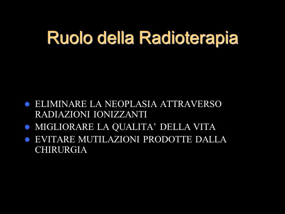 Ruolo della Radioterapia