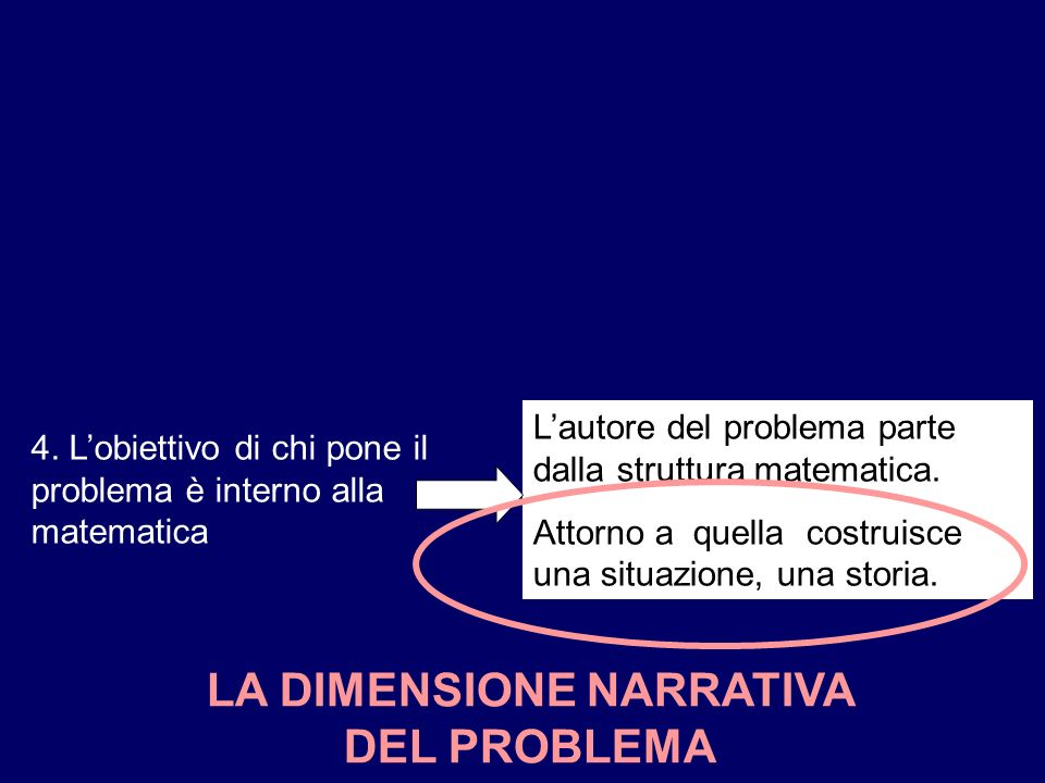 LA DIMENSIONE NARRATIVA