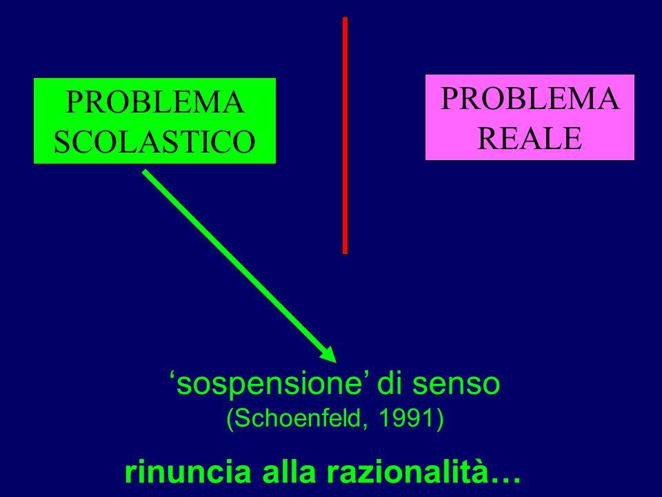 rinuncia alla razionalità…
