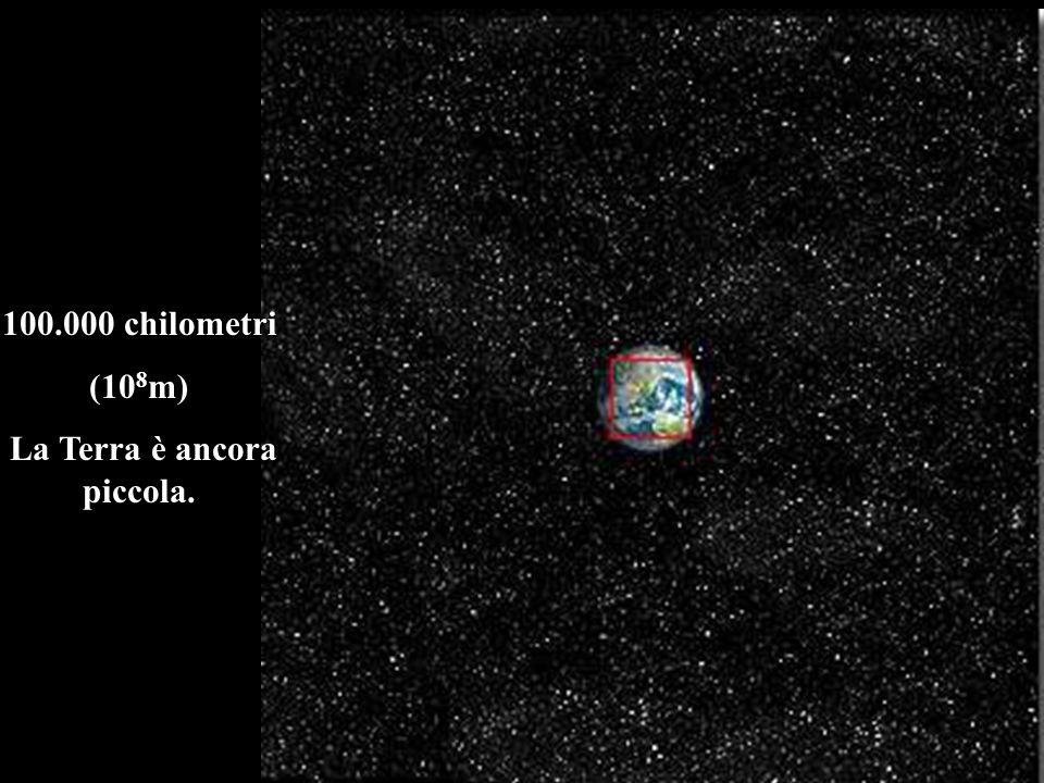 La Terra è ancora piccola.