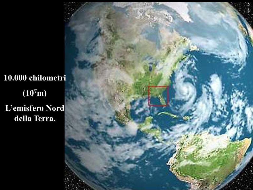 L'emisfero Nord della Terra.