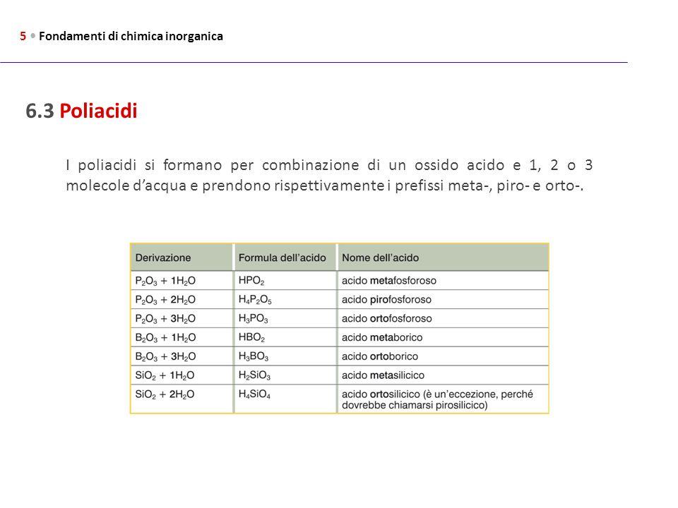 5 • Fondamenti di chimica inorganica