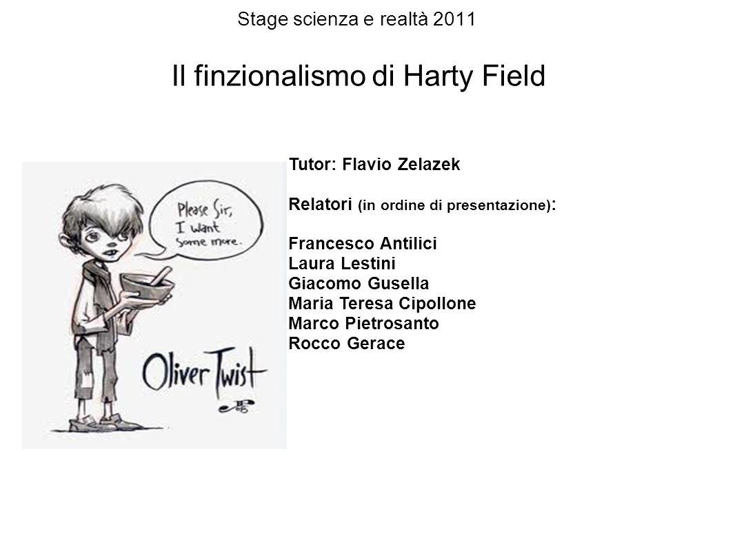 Il finzionalismo di Harty Field