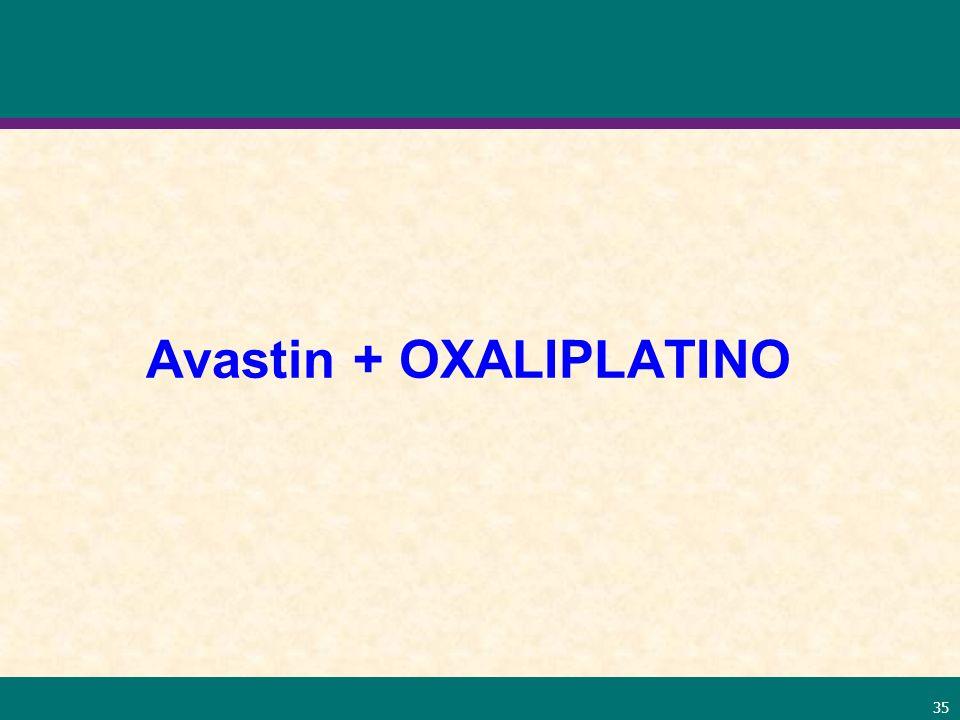 Avastin + OXALIPLATINO