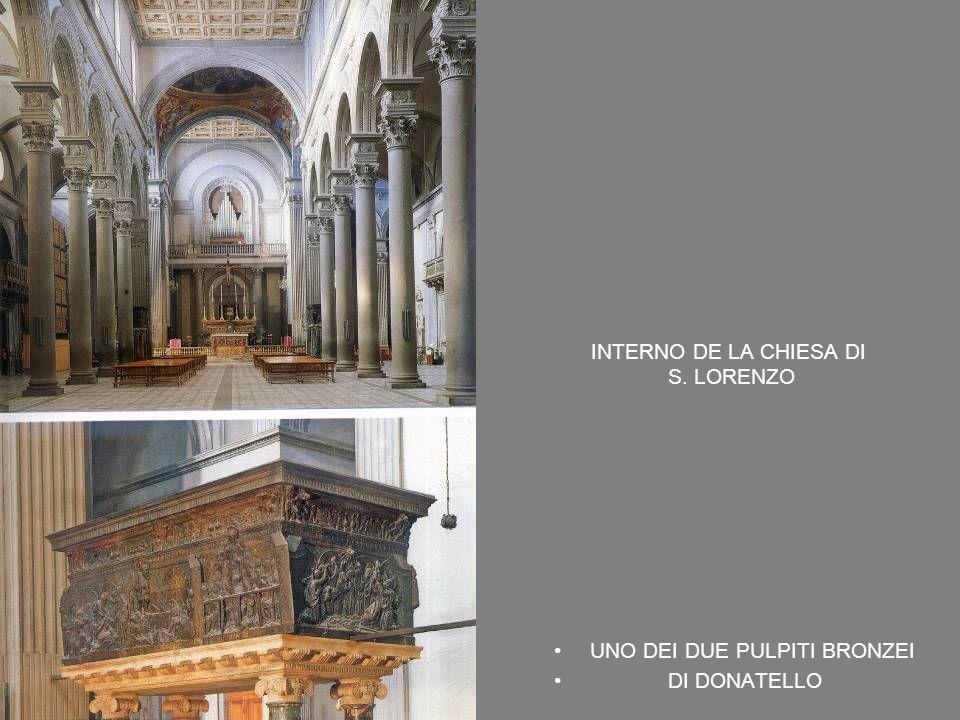 INTERNO DE LA CHIESA DI S. LORENZO