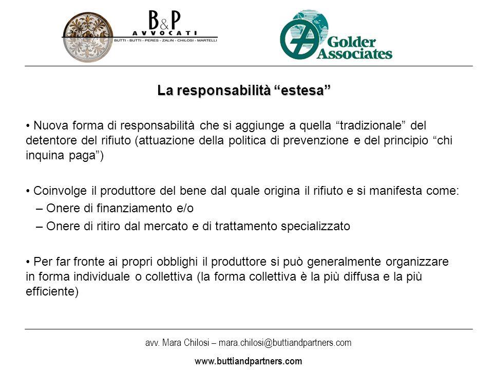 La responsabilità estesa