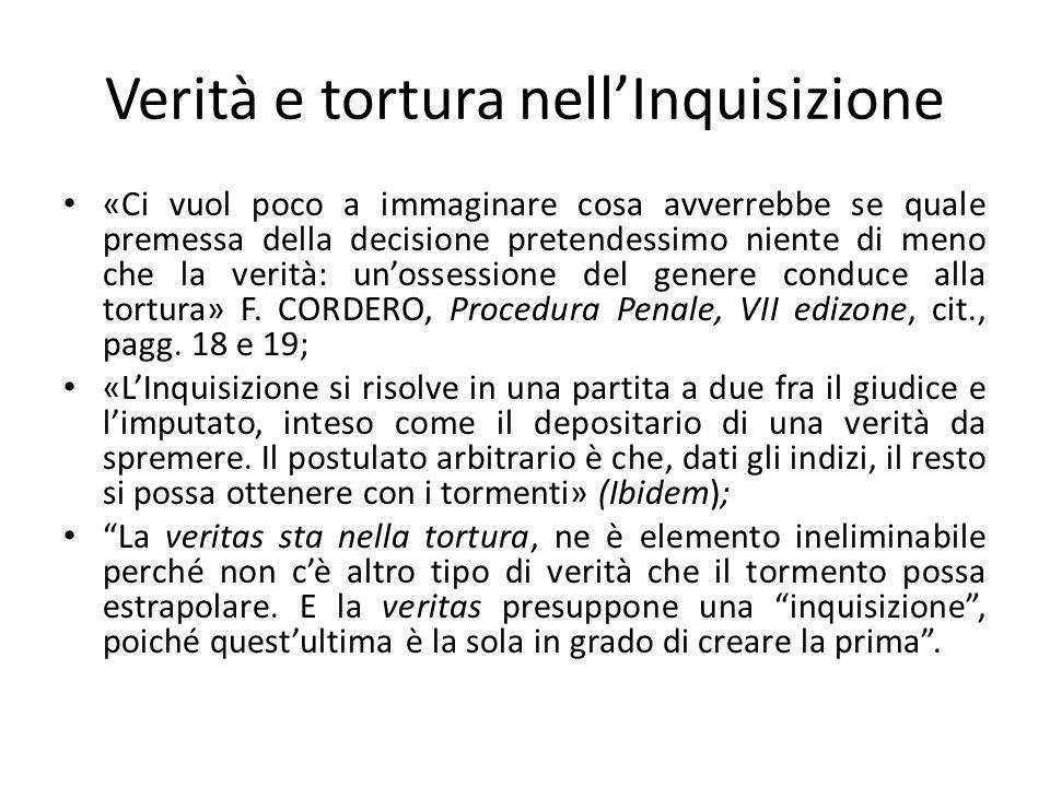 Verità e tortura nell'Inquisizione