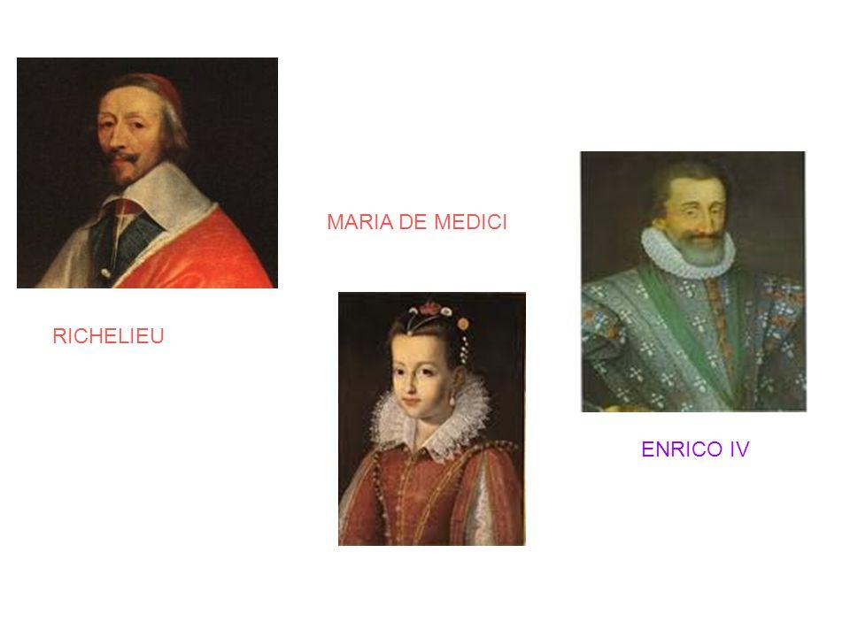 MARIA DE MEDICI RICHELIEU ENRICO IV