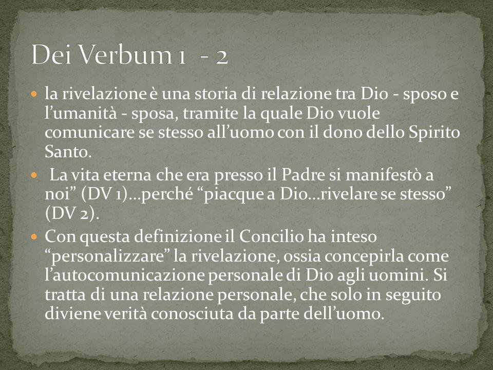 Dei Verbum 1 - 2