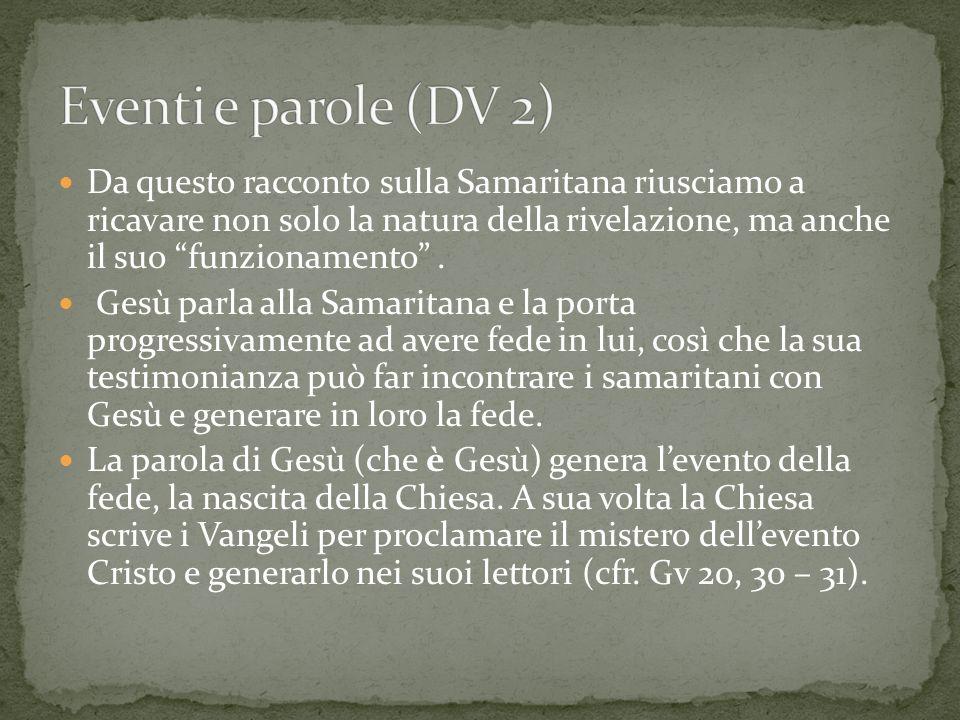 Eventi e parole (DV 2)