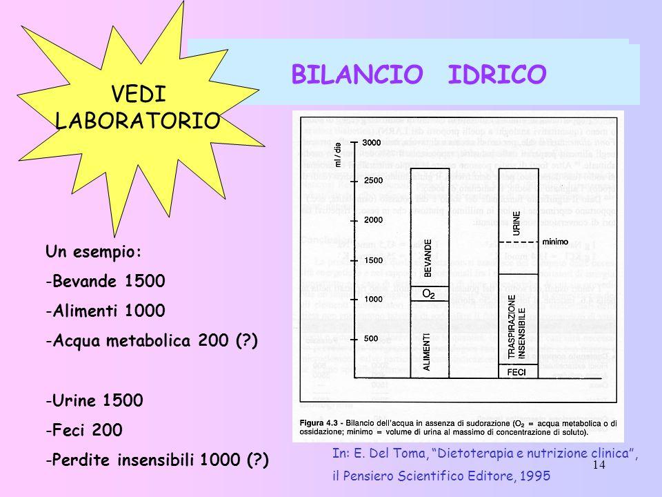 BILANCIO IDRICO BILANCIO IDRICO