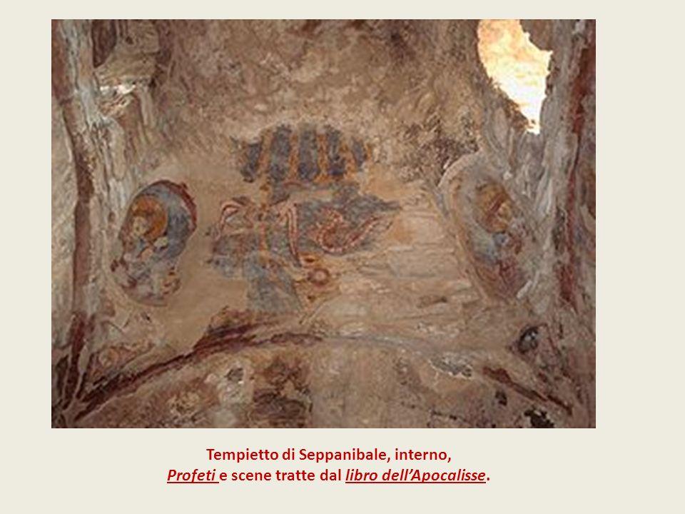Tempietto di Seppanibale, interno,