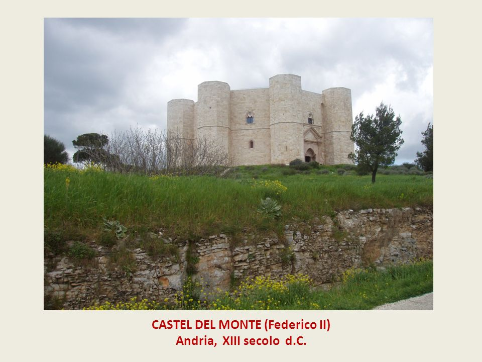 CASTEL DEL MONTE (Federico II)
