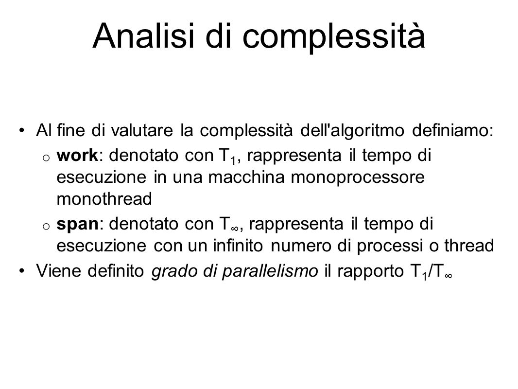 Analisi di complessità