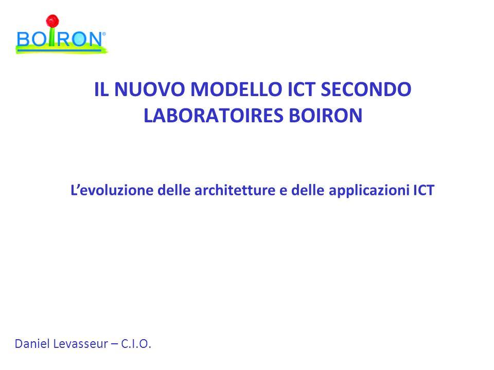 IL NUOVO MODELLO ICT SECONDO LABORATOIRES BOIRON