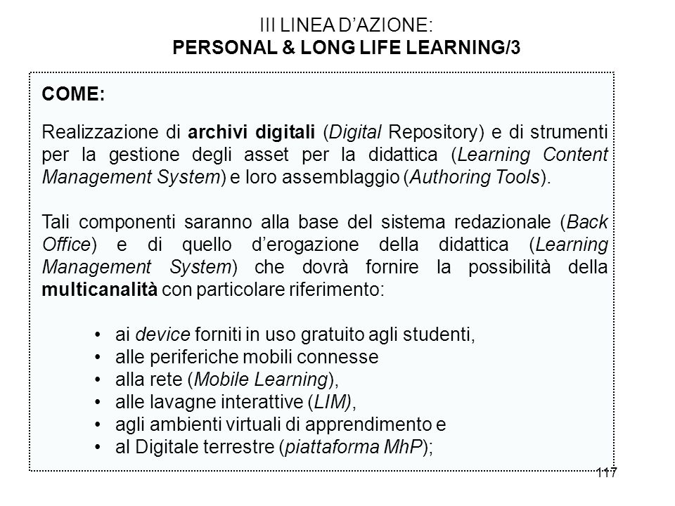 PERSONAL & LONG LIFE LEARNING/3