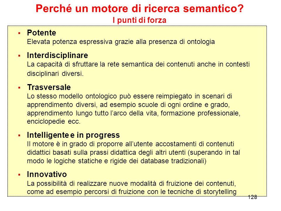 Perché un motore di ricerca semantico