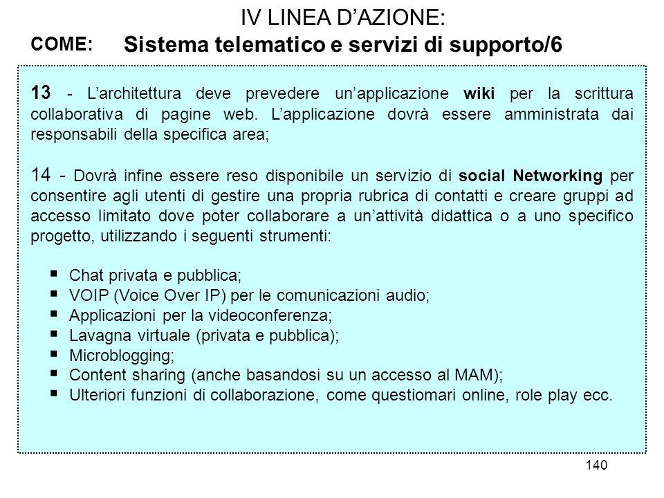 Sistema telematico e servizi di supporto/6