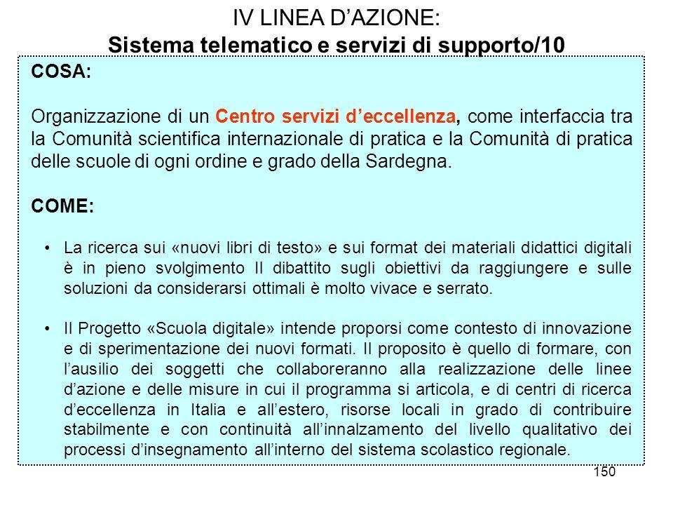 Sistema telematico e servizi di supporto/10