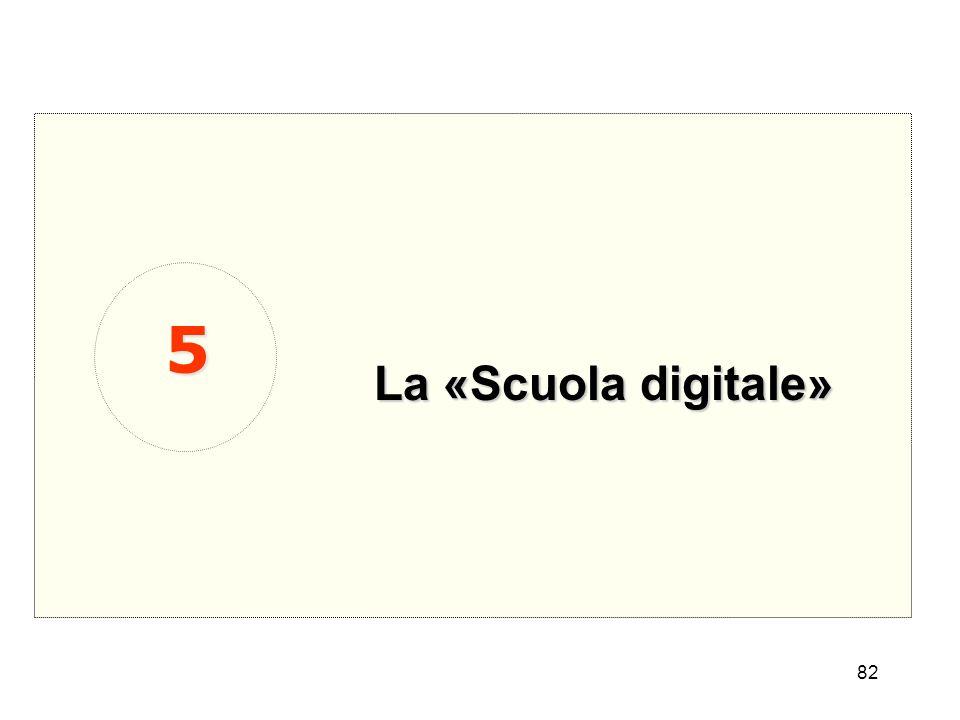 5 La «Scuola digitale»