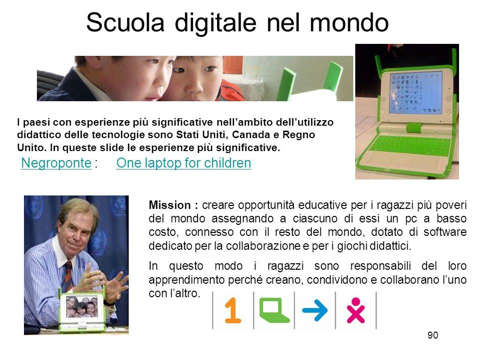 Scuola digitale nel mondo
