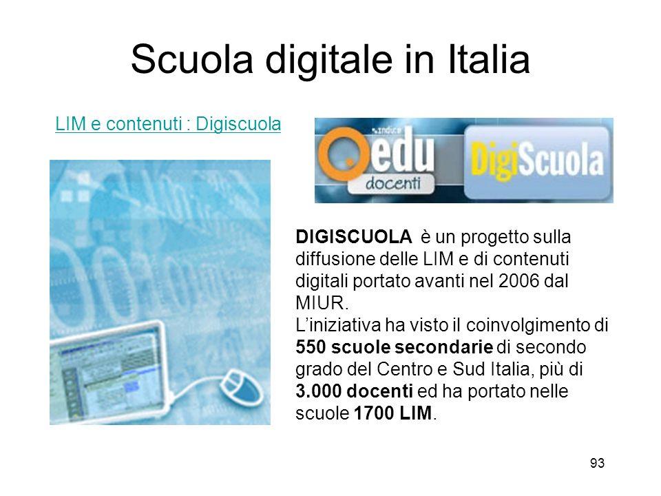 Scuola digitale in Italia