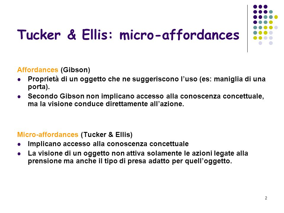 Tucker & Ellis: micro-affordances