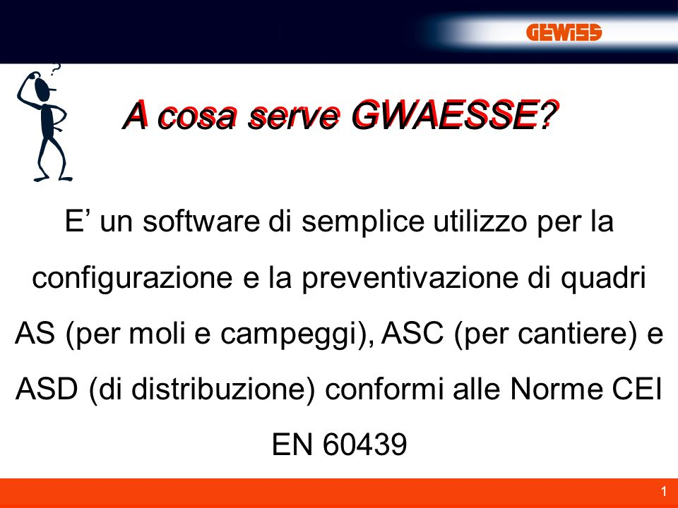 A cosa serve GWAESSE