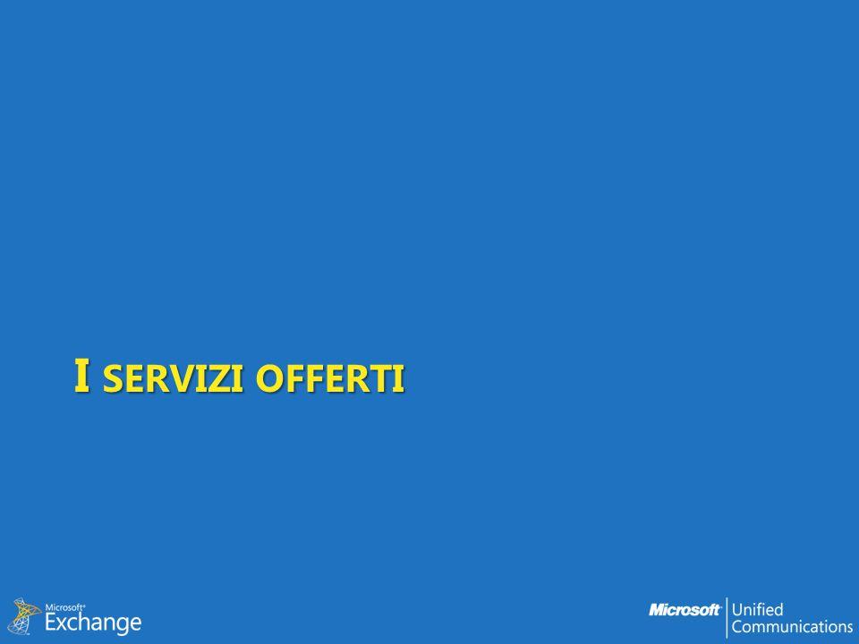I servizi offerti