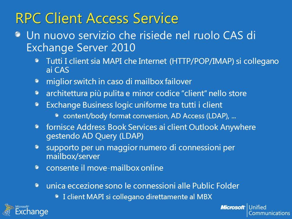 RPC Client Access Service