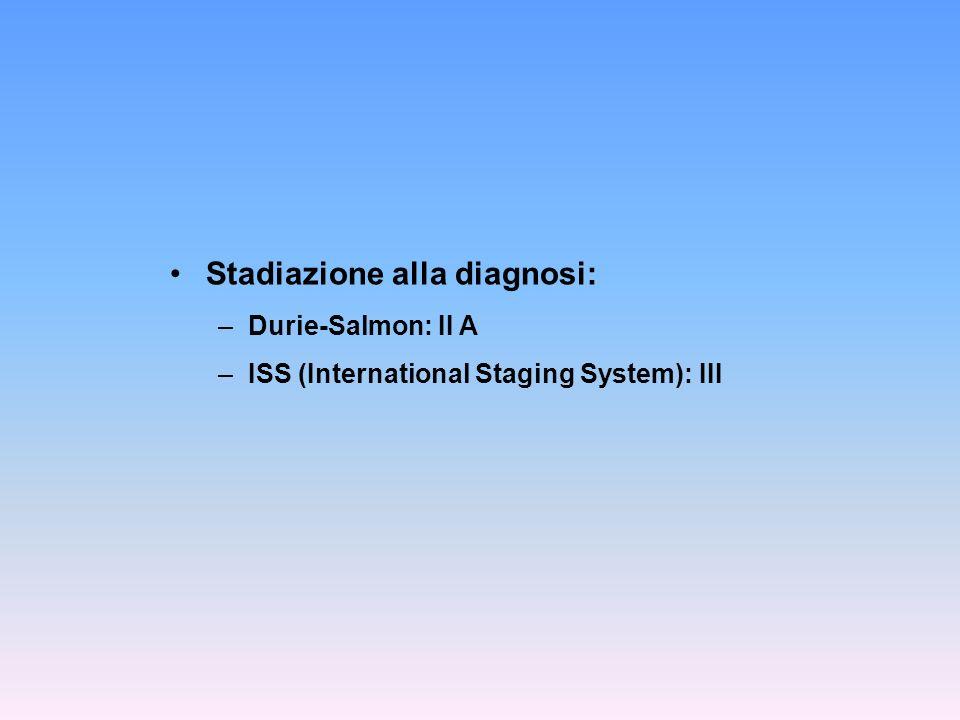 Stadiazione alla diagnosi:
