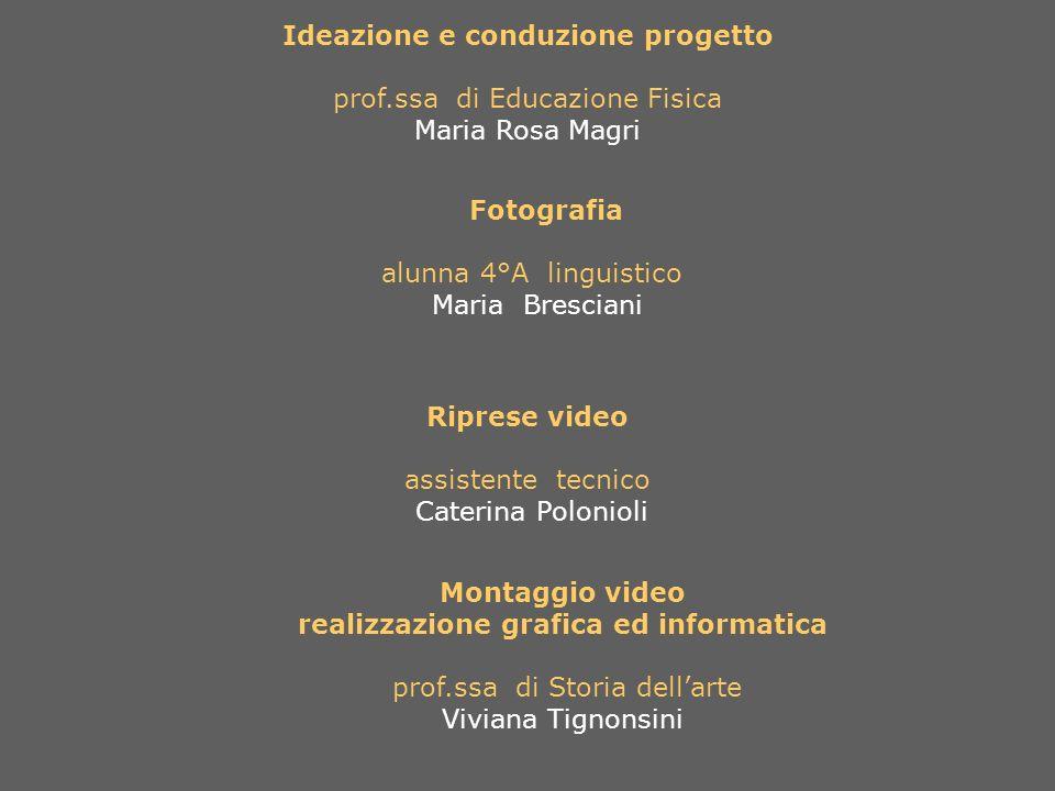 Ideazione e conduzione progetto