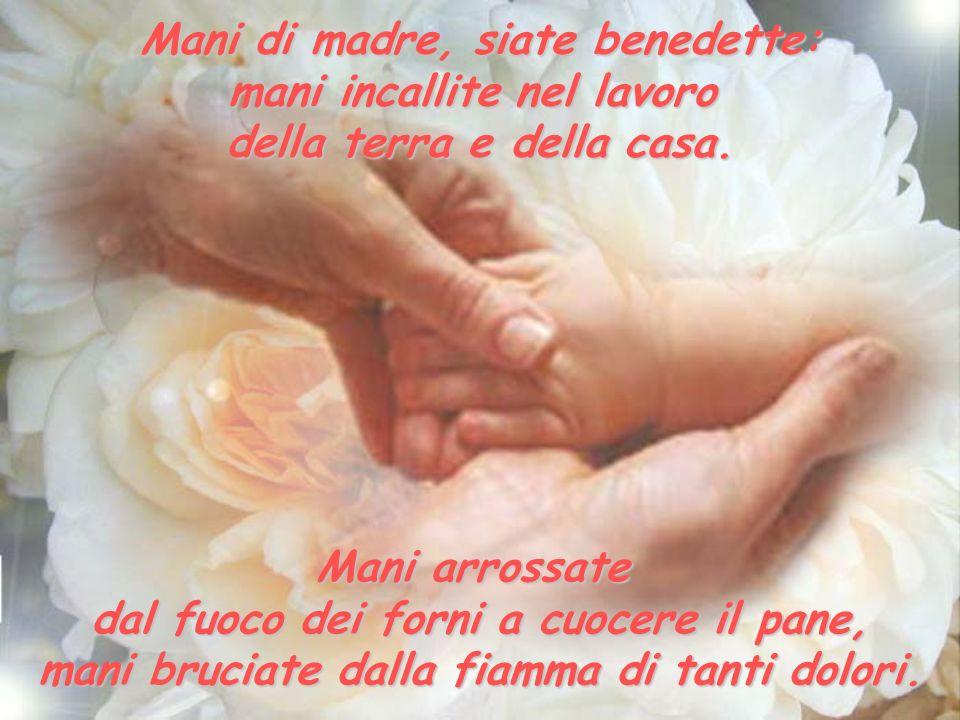 Mani di madre, siate benedette: mani incallite nel lavoro