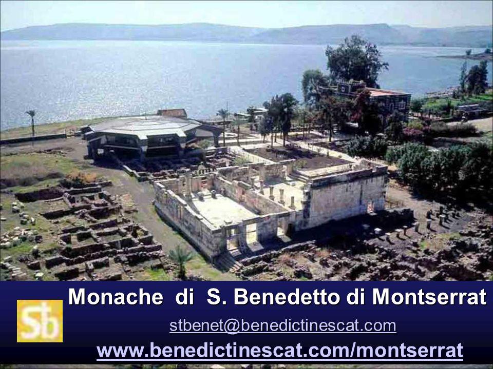 Monache di S. Benedetto di Montserrat stbenet@benedictinescat. com www