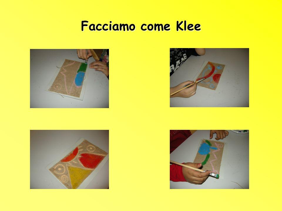Facciamo come Klee