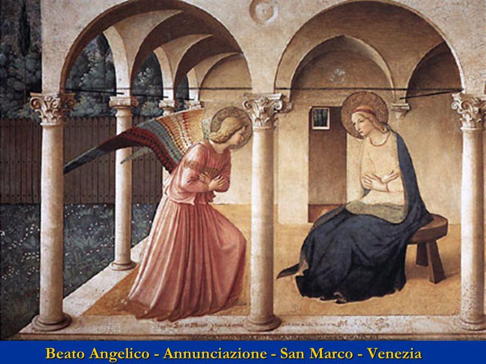 Beato Angelico - Annunciazione - San Marco - Venezia