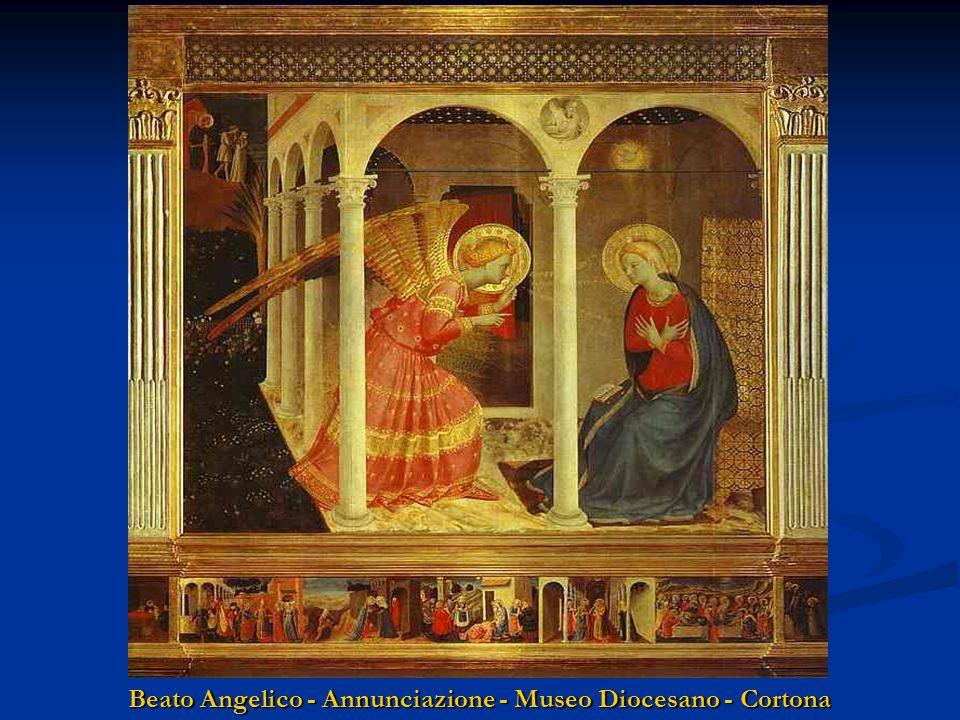 Beato Angelico - Annunciazione - Museo Diocesano - Cortona