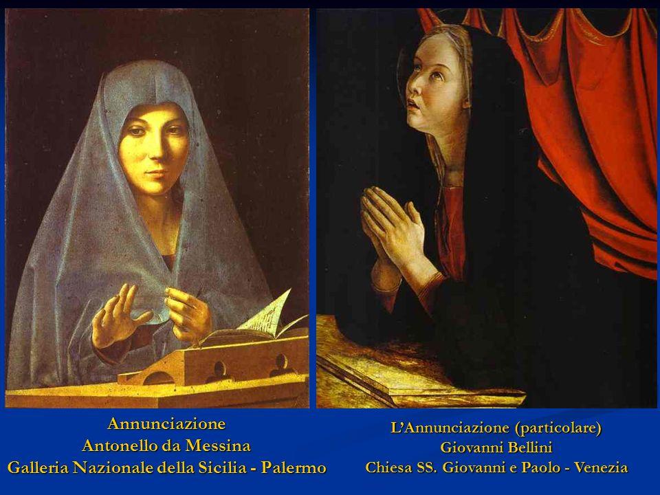 L'Annunciazione (particolare) Chiesa SS. Giovanni e Paolo - Venezia