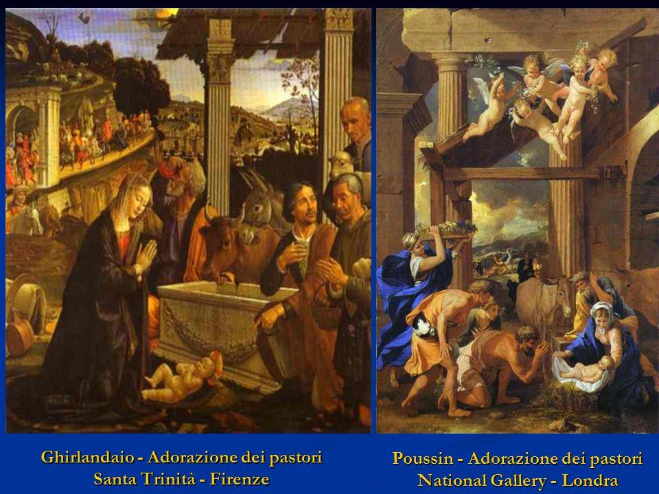 Ghirlandaio - Adorazione dei pastori Santa Trinità - Firenze