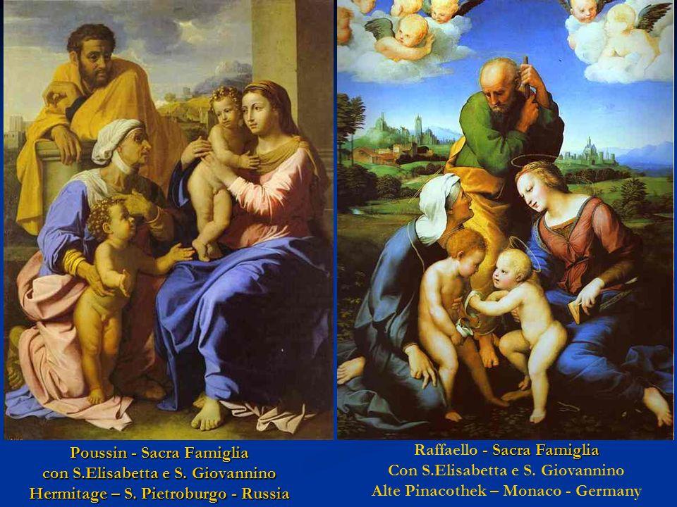 Raffaello - Sacra Famiglia Con S.Elisabetta e S. Giovannino