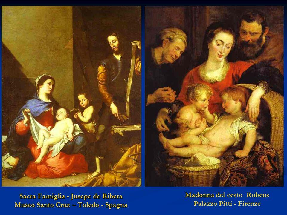 Sacra Famiglia - Jusepe de Ribera Museo Santo Cruz – Toledo - Spagna