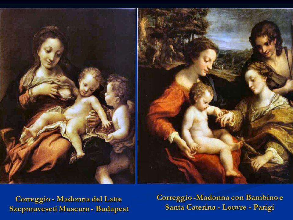 Correggio - Madonna del Latte Szepmuveseti Museum - Budapest