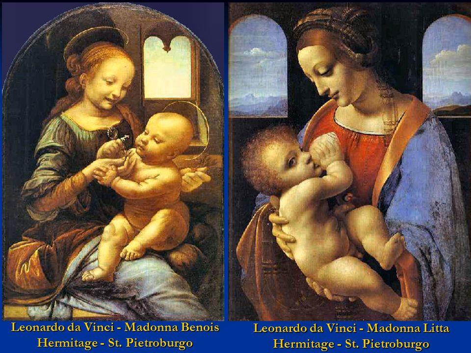 Leonardo da Vinci - Madonna Benois Hermitage - St. Pietroburgo